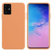Оранжевый силиконовый чехол Silicone Cover Orange для Samsung Galaxy S20+ Plus