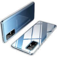 Прозрачный силиконовый чехол для Samsung Galaxy S20 Plus