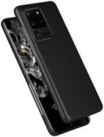 Черный пластиковый чехол для Samsung Galaxy S20 Ultra