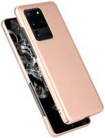 Золотой пластиковый чехол для Samsung Galaxy S20 Ultra