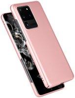 Пластиковый чехол для Samsung Galaxy S20 Ultra розовое золото