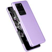 Фиолетовый пластиковый чехол для Samsung Galaxy S20 Ultra