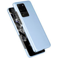 Голубой пластиковый чехол для Samsung Galaxy S20 Ultra
