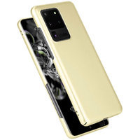 Желтый пластиковый чехол для Samsung Galaxy S20 Ultra