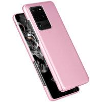 Розовый пластиковый чехол для Samsung Galaxy S20 Ultra