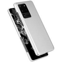 Серебряный пластиковый чехол для Samsung Galaxy S20 Ultra