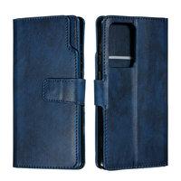 Синий чехол книжка для Samsung Galaxy S20 Ultra