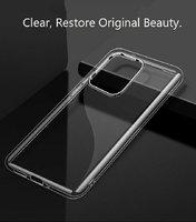 Прозрачный силиконовый чехол накладка для Samsung Galaxy S20 Ultra