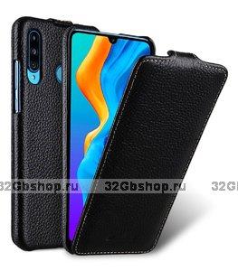 Черный кожаный чехол флип для Xiaomi Mi 9 - Melkco Leather Case Jacka Type Black