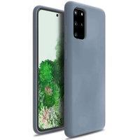Синий силиконовый чехол для Samsung Galaxy S20 Plus