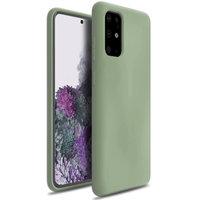 Зеленый силиконовый чехол для Samsung Galaxy S20 Plus