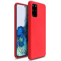 Красный силиконовый чехол для Samsung Galaxy S20 Plus