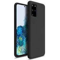 Черный силиконовый чехол для Samsung Galaxy S20 Plus