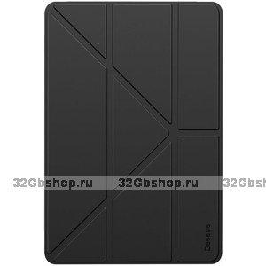 Черный чехол книжка Baseus Jane Y-Type Leather Black для iPad 10.2 2019