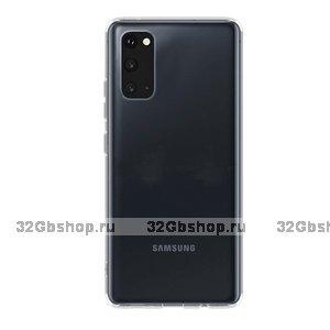 Прозрачный силиконовый чехол Deppa Gel Case Basic для Samsung Galaxy S20