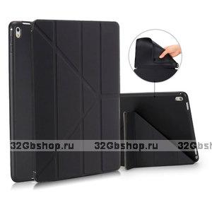 Черный чехол подставка BoraSCO Black для iPad 10.2 2019