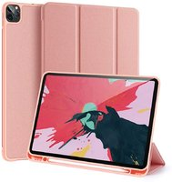 Розовый чехол книжка подставка для iPad Pro 11 2020 с держателем Pencil