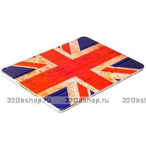 Чехол Jisoncase UK Retro Flag для iPad 4 / 3 / 2 флаг Великобритании