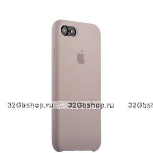 Лавандовый силиконовый чехол Silicone Case Lavender для iPhone SE 2