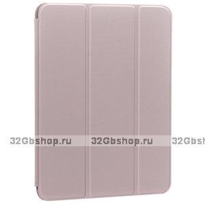 Розовый песок чехол книжка Smart Case Pink ArtCase для iPad Pro 11 2020