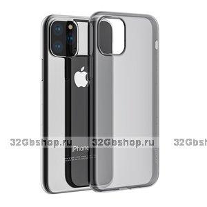 """Прозрачный силиконовый чехол для iPhone 12 Pro Max (6.7"""") - Hoco Light Series"""