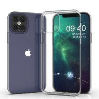 """Прозрачный силиконовый чехол для iPhone 12 Pro Max (6.7"""")"""