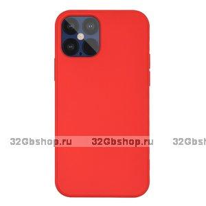 """Красный силиконовый чехол для iPhone 12 Pro Max (6.7"""")"""