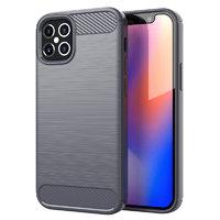 """Серый защитный силиконовый чехол для iPhone 12 Pro Max (6.7"""")"""