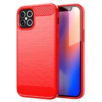"""Красный защитный силиконовый чехол для iPhone 12 Pro Max (6.7"""")"""