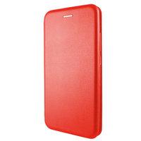 """Красный кожаный чехол книжка для iPhone 12 Pro Max (6.7"""")"""
