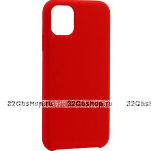 """Красный силиконовый чехол накладка TOTU Outstanding Series Silicone Case Red для iPhone 12 mini (5.4"""")"""
