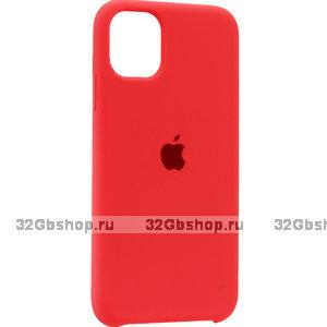 """Розовый силиконовый чехол накладка для Apple iPhone 12 mini (5.4"""") - Silicone Case Pink"""