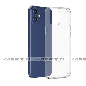 """Прозрачный силиконовый чехол для iPhone 12 mini (5.4"""") - Art Case Transparent TPU Case"""