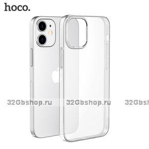 """Прозрачный силиконовый чехол Hoco Light Series для iPhone 12 mini (5.4"""")"""