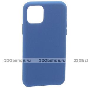 "Синий силиконовый чехол накладка для Apple iPhone 12 mini (5.4"") - Art Case Silicone Case Blue"