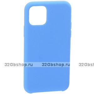 "Голубой силиконовый чехол накладка для Apple iPhone 12 mini (5.4"") - Art Case Silicone Case Blue"