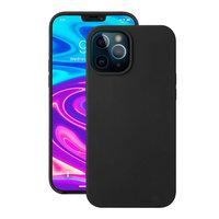 """Черный силиконовый чехол Deppa Liquid Silicone Case Black для iPhone 12 Pro Max (6.7"""")"""