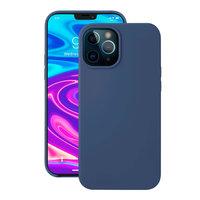 """Синий силиконовый чехол Deppa Liquid Silicone Case Blue для iPhone 12 Pro Max (6.7"""")"""