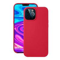 """Красный силиконовый чехол Deppa Liquid Silicone Case Red для iPhone 12 Pro Max (6.7"""")"""