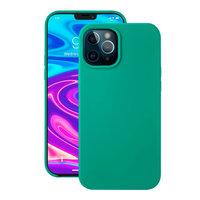 """Зеленый силиконовый чехол Deppa Liquid Silicone Case Green для iPhone 12 Pro Max (6.7"""")"""