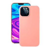 """Розовый силиконовый чехол Deppa Liquid Silicone Case Pink для iPhone 12 Pro Max (6.7"""")"""