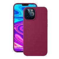 """Бордовый силиконовый чехол Deppa Liquid Silicone Maroon для iPhone 12 Pro Max (6.7"""")"""
