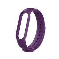Фиолетовый силиконовый ремешок для Xiaomi Mi Band 5