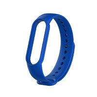 Синий силиконовый ремешок для Xiaomi Mi Band 5
