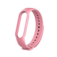 Розовый силиконовый ремешок для Xiaomi Mi Band 5