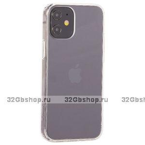 """Прозрачный пластиковый чехол накладка K-Doo для iPhone 12 mini (5.4"""") силиконовый борт"""