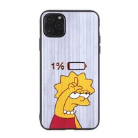 """Серый силиконовый чехол Симпсон для iPhone 12 mini (5.4"""")"""