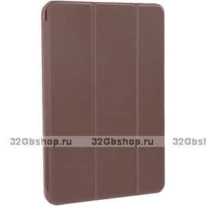 "Коричневый чехол книга для Apple iPad Pro 11"" 2021 - Art Case Smart Series Brown"