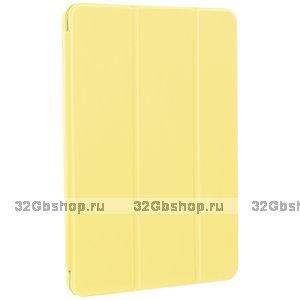 """Желтый чехол книга для Apple iPad Pro 11"""" 2021 - Art Case Smart Series Yellow"""