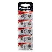 Элемент питания Camelion G7 (395A / LR927 / 195 батарейка для часов)